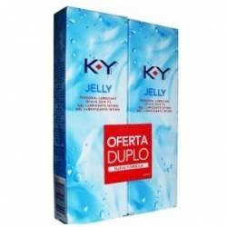 K-Y Gel Lubricante Intimo Duplo 75 + 75 Ml.