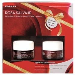 Korres Set Rosa Salvaje Piel Mixta Caja Navidad