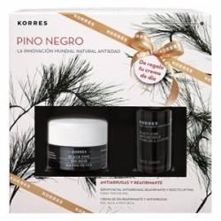 Korres Set Pino Negro Piel Mixta Caja Navidad