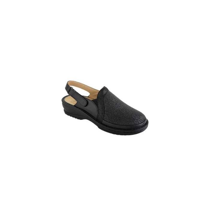 Dr. Scholl Velba Negro Removable Insole
