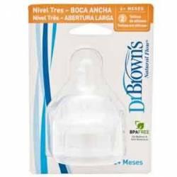 Dr. Browns Tetinas Boca Ancha (2uds)