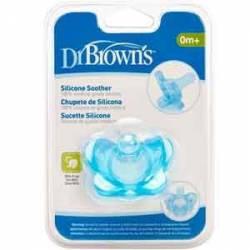 Dr. Browns Chupete Silicona 1 Sola Pieza