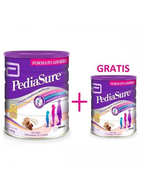 Pediasure Chocolate 850 G. + 400 G Gratis
