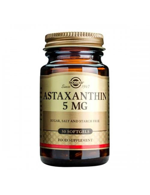 Solgar Astaxantina 5 Mg 30 Cápsulas