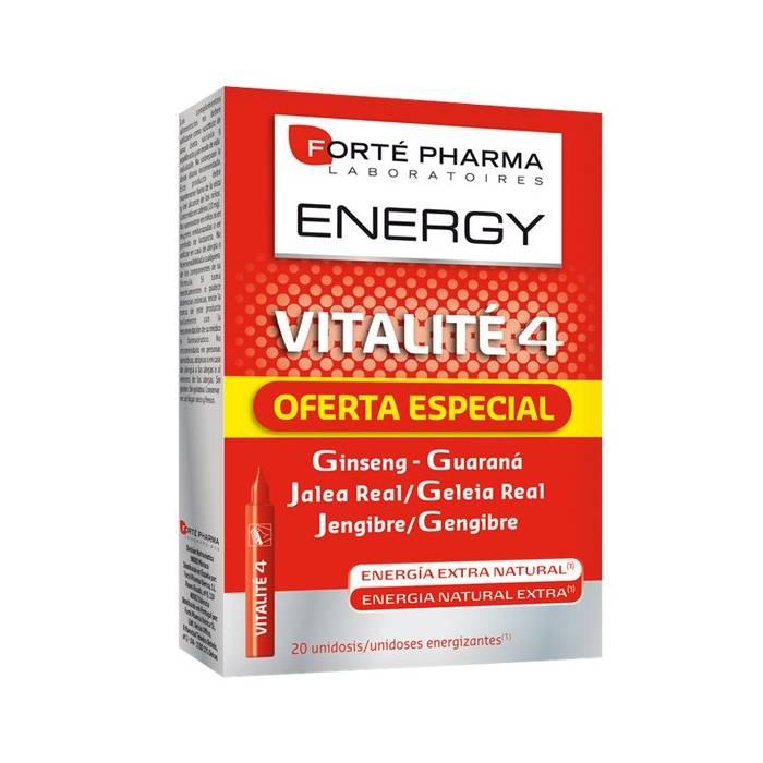 Energy Vitalité 4 Forte Pharma 20 Unds de 10ml