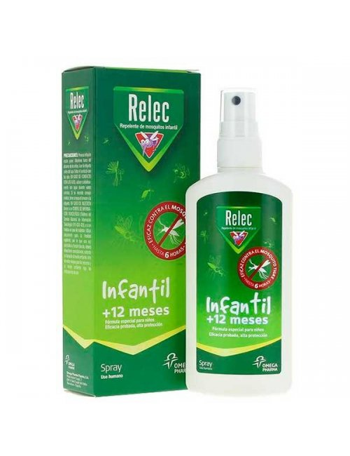 Relec Spray Infantil +12 Meses 100 Ml.