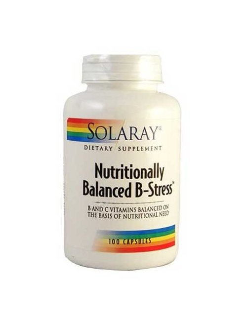 Solaray Nutritionally Balanced B 100 Caps.