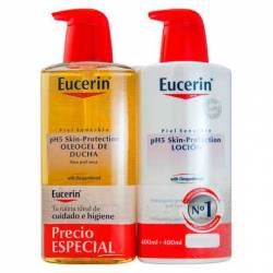 Eucerin Ph5 Locion 400 + Oleogel 400 Ml.
