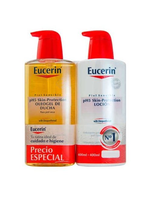 Eucerin Ph5 Locion 400 + Oleogel 400 Ml.