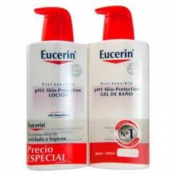Eucerin Locion 400ml + Gel de Baño 400ml