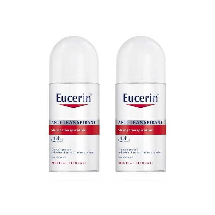 Eucerin Duplo Desodorante Antitranspirante Roll-On 48h