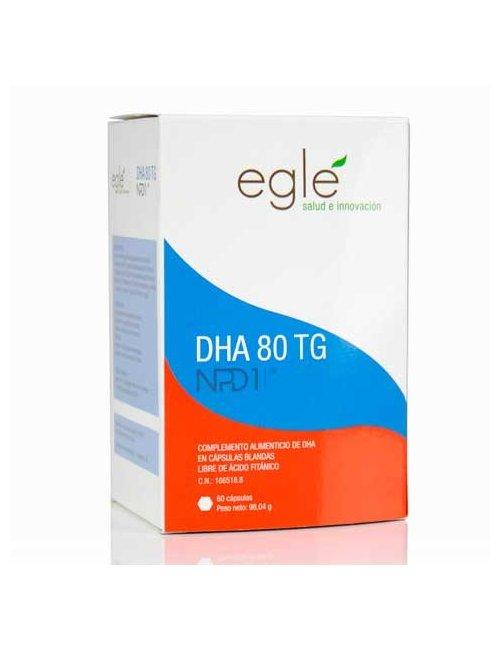 NPD1 DHA 80 TG 60 Cápsulas Omega-3 Eglé