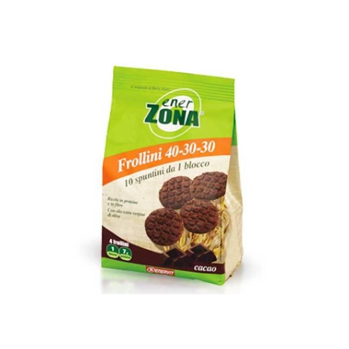Enerzona Tentempié Galletas de Cacao 40-30-30
