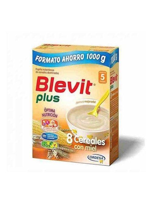 Blevit Plus 8 Cereales Con Miel 1000 Gr