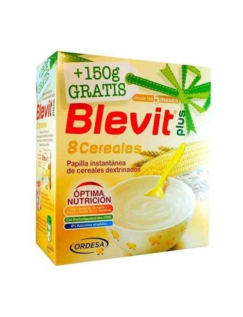 Blevit Plus 8 Cereales 600 + 150 Gratis