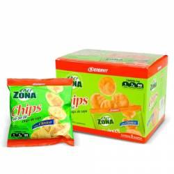 Enerzona Chips Soja Sabor Clásico 5 Bolsitas
