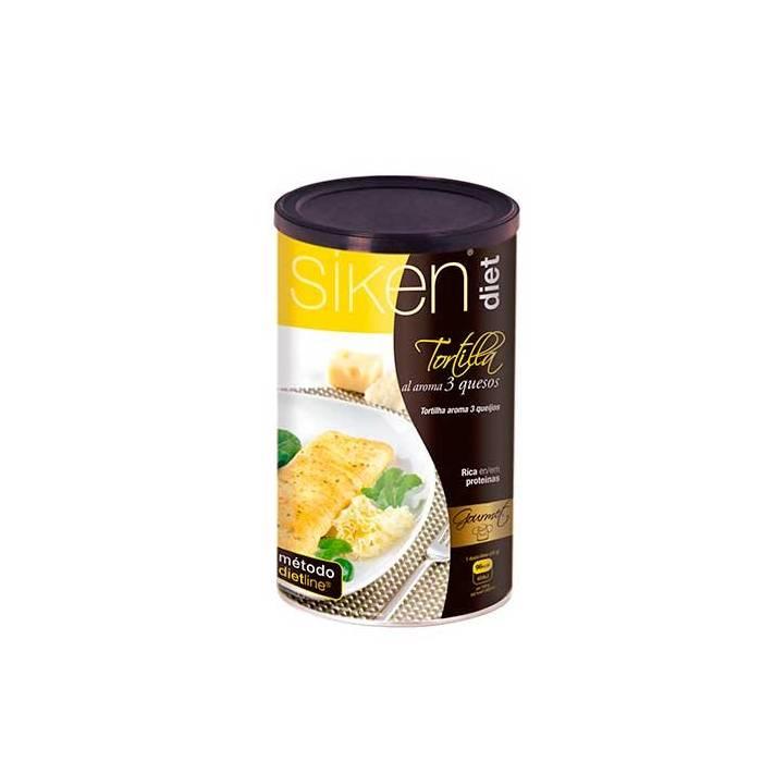 Siken Tortilla al aroma 3 quesos 400 g
