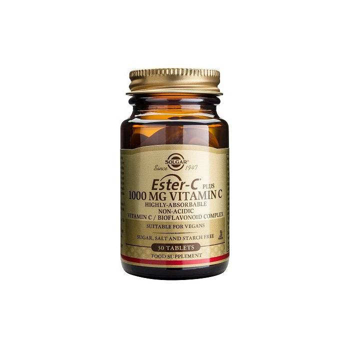 Ester-C Plus 1000 Mg 90 Cápsulas Solgar