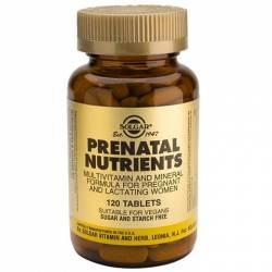 Nutrientes Prenatales 120 Comprimidos Solgar