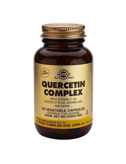 Quercitina Complex Solgar 50 Cápsulas