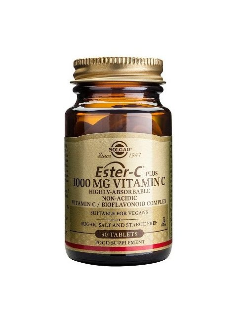 Ester-C Plus 1000 Mg (vitamina C) 30 Cápsulas Solgar