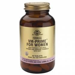 Fórmula VM Prime Women (Mujer) soja  90comp SOLGAR