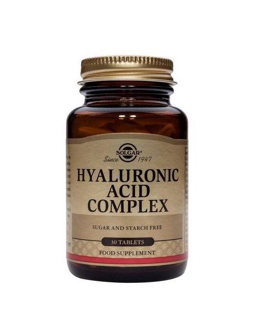 Ácido Hialurónico 120 mg Solgar 30 comprimidos