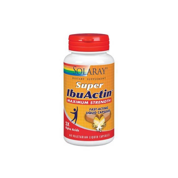Solaray Super IbuActin 60 Cápsulas