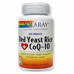 Solaray Red Yeast Rice Plus CoQ10 60 Caps.