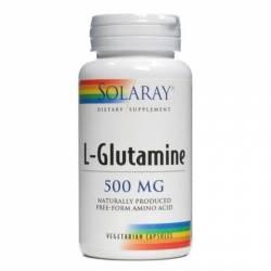 L-Glutamine 500 Mg 50 Cápsulas Solaray