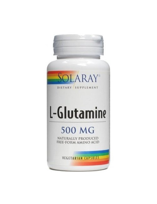 L-Glutamine 500 Mg 50 Cápsulas Solaray