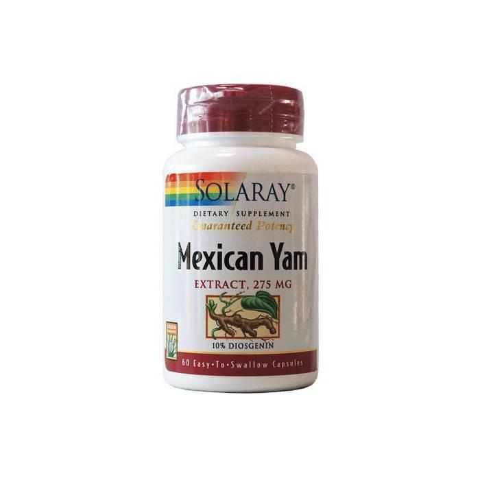 Solaray Mexican Yam 60 capsulas (Mujer)