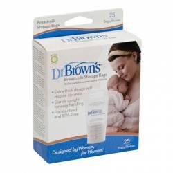 Dr. Browns Almacenamiento Leche 25 Uds.