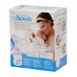 Dr. Browns Sacaleches Manual Regalo Biberon