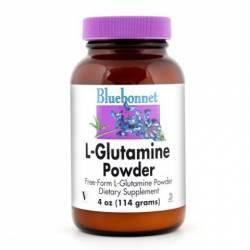 Bluebonnet L-Glutamina Polvo 114 G.