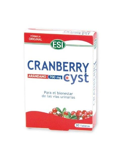 Esi Cranberry Cyst 30 Comprimidos