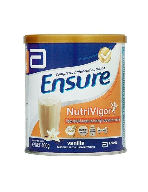 Ensure NutriVigor Vainilla 400 G.