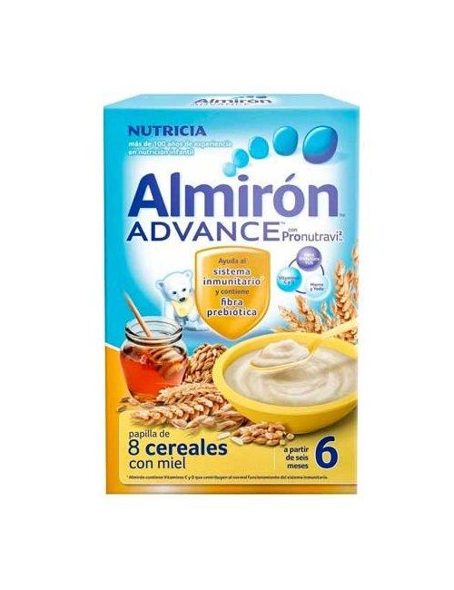 Almirón Advance 8 Cereales Con Miel Bífidus 500 G