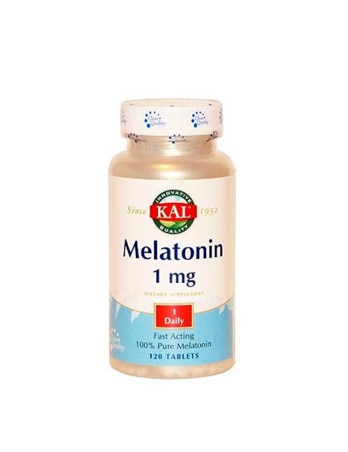Kal Melatonina 1 Mg 120 comprimidos