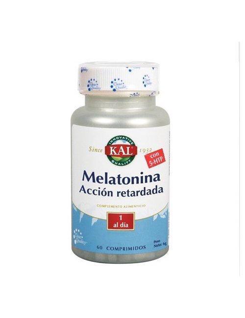 Kal Melatonina + 5 HTP 60 Comprimidos