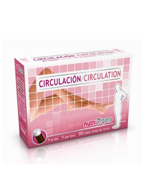 Nutriorgans Circulación 20 Ampollas Tongil