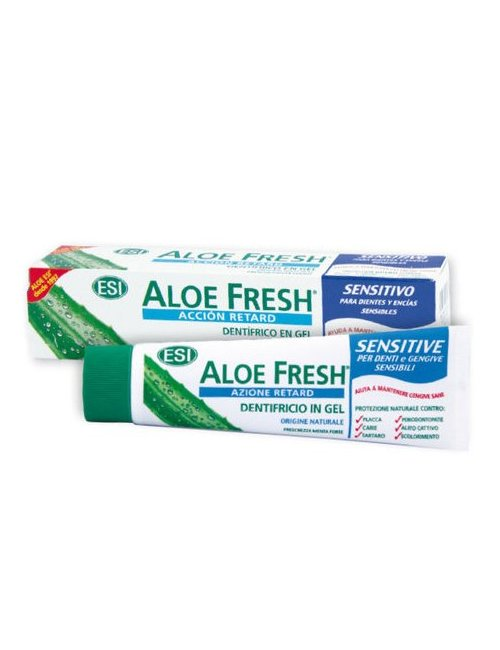 ESI Aloe Fresh Retard Dentrífico Sensitivo 100 Ml.