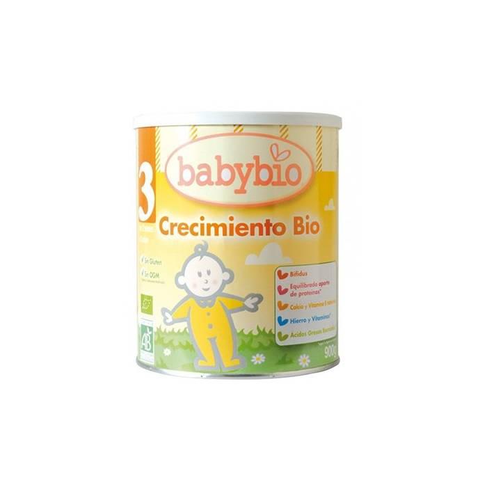 BabyBio Leche Infantil 3 Polvo 900 G.