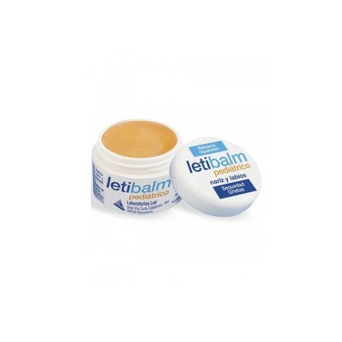 LetiBalm Pediatrico Tarro 10 Ml.