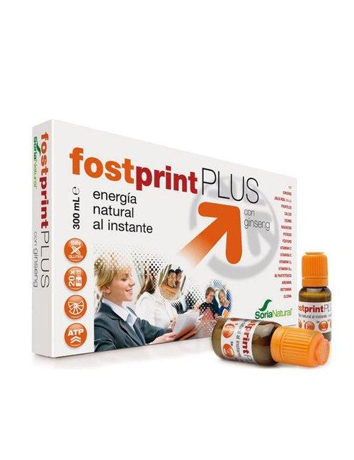 Fost Print Plus Jalea Real Sabor Mandarina 20 viales