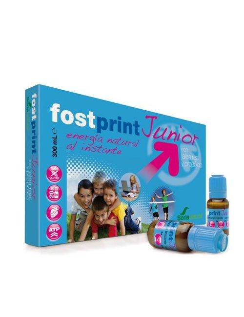 Fost Print Junior Jalea Real Sabor Fresa 20 viales