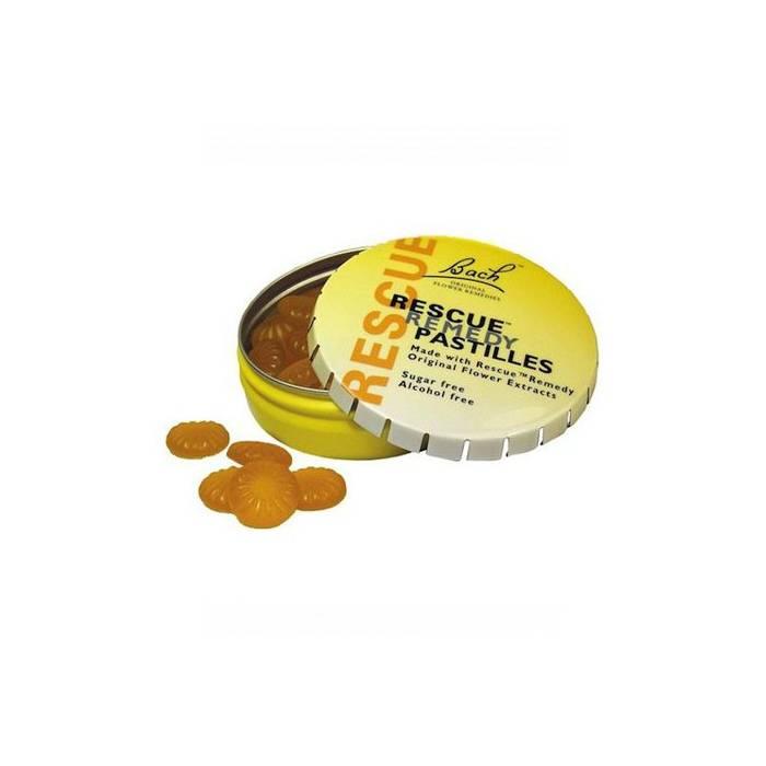 Bach Rescue Pastillas Naranja-Sauco 50 Gr.