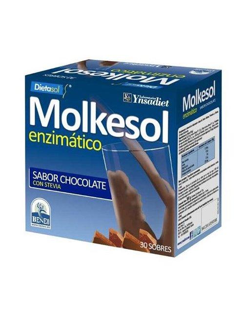 Molkesol Sabor Chocolate 30 Sobres