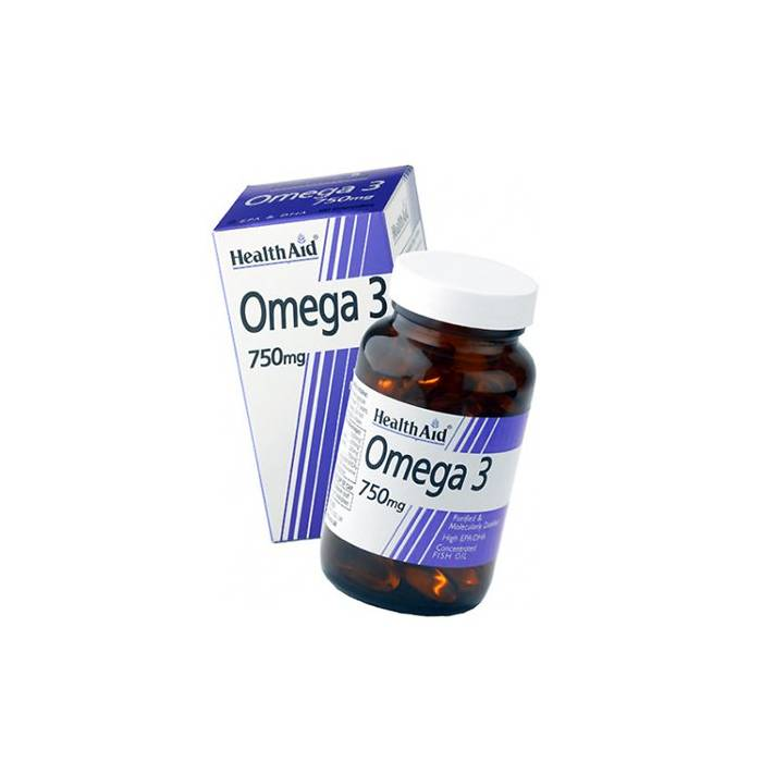 Health Aid Omega 3 750mg 60 Cápsulas