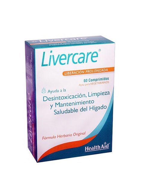Health Aid Livercare 60 Comprimidos